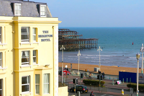 The Brighton Hotel with Dinner and Prosecco Image